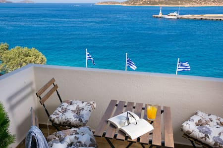 Stunning sea view apartment! - Agios Nikolaos - Huoneisto