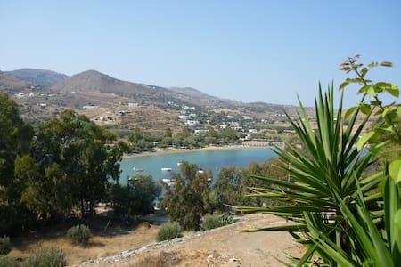 Apartment overlooking Otzias beach - Apartment