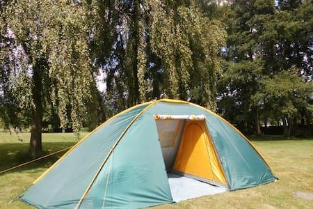 Urlaub im großen Zelt am Waldsee - Tenda