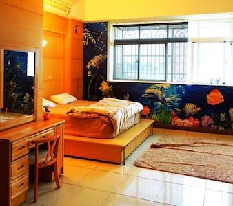 3樓-甜蜜雙人房 - Donggang Township - Rekkehus