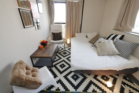 Center of Shibuya with modern designed room ! - Daire