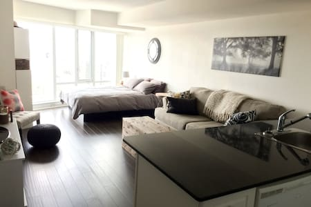 New Listing! Spacious Studio Yonge - Dundas Square - Toronto - Appartement