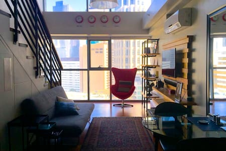 NEW-Makati Loft by Suite Experience - Makati - Apartment
