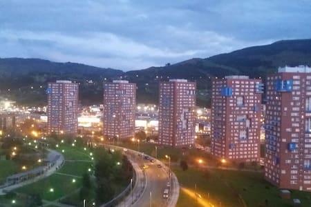 Zona parque botánico. 10min Bilbao - Barakaldo