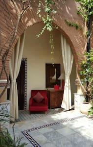 Une chambre avec vue sue jardin - Aghmat - Pousada