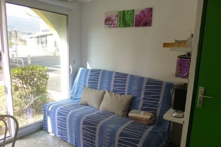 Studio avec parking  proche thermes - Appartement