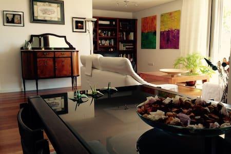 Amplio apartamento con jardín a 3 km de Sg - Apartment
