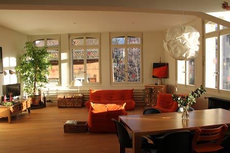 Magnifique loft de 200 m2 - Vevey - Apartmen