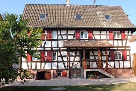 Le Petit Schelishans Strasbourg - Oberschaeffolsheim - Talo
