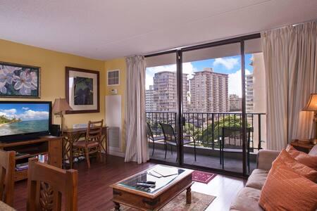 Beachside 1 BDRM Big Kitchen WS812 - Honolulu - Apartment