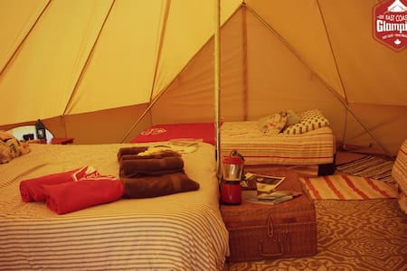 East Coast Glamping - Zelt