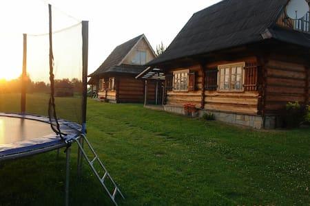 Chatki za wsią - pierwsza chatka - Czarny Dunajec - Chalet