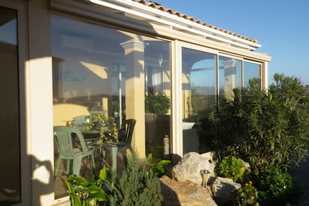 Jolie villa tt confort , jardin,  2sdb , expo sud - Fitou