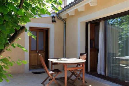 Charmante maisonnette avec terrasse plein sud - La Roche-de-Glun - Dom