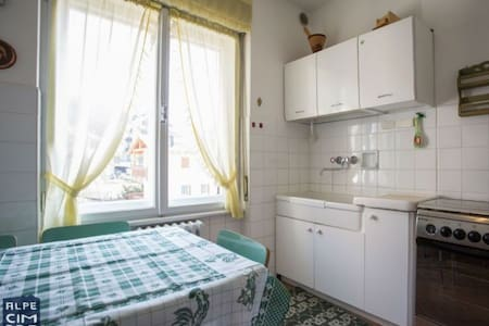 Three rooms in Folgaria, with large garden - Wohnung