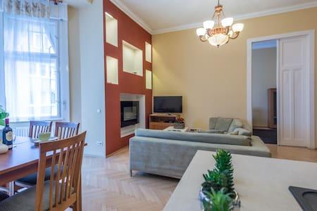 Classical Apartment 100sqm 2Be/2Ba - Budapest