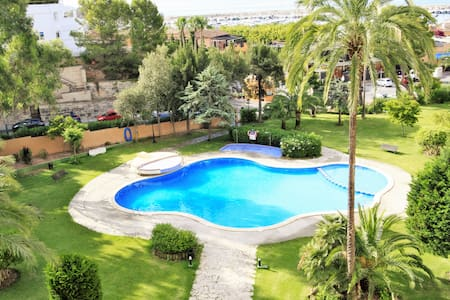 Two Bedroom Apartment with Pool and Sea Views - Portals Nous - Wohnung