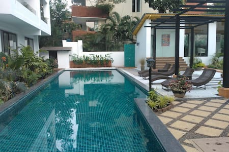 North Goa Luxury Apartment near Candolim Beach - Haus