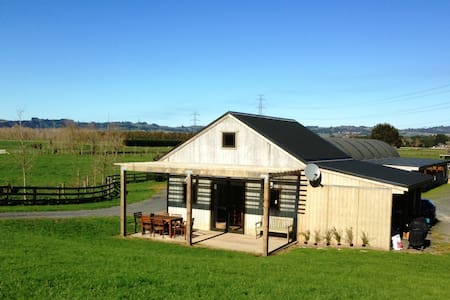 Comfortable, private and rural close to Clevedon - Auckland - Hytte