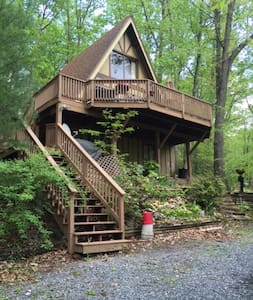 Treehouse - Shenandoah - Zomerhuis/Cottage
