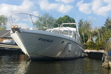 Luxury heated French Motor Yacht at Riverscapes - Greater London - Boat
