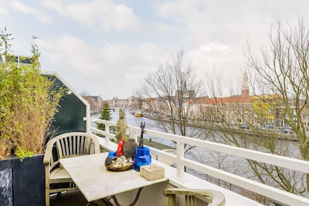 Spaarne Riverside Apartment for 3 - Appartement