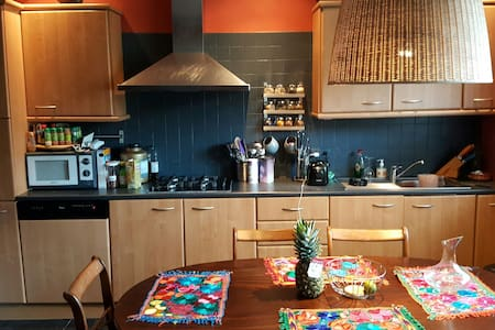 Chaleureuse villa à Dilbeek - Ház