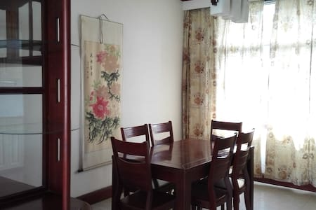 私密性较好的独立房间,卫浴舒适,交通便利 - Deyang - Dom