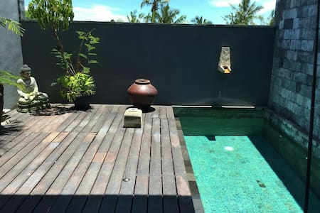pool villa, 15' beachs,GREAT VALUE for long stay.! - tabanan - House