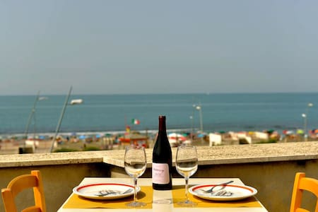 PENTHOUSE AT THE SEA OF ROME !!! - Ostia - Wohnung