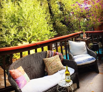 Serene redwoods retreat with pool. - San Anselmo - Wohnung