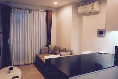 BTS Nana, cozy, guest friendly and 24/7 checkin - Bangkok - Condominium