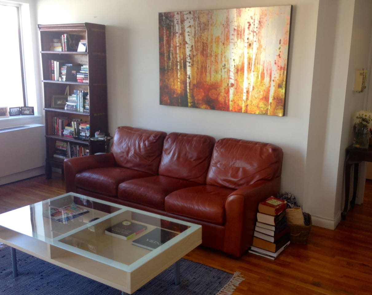 Clean, comfortable and spacious living area