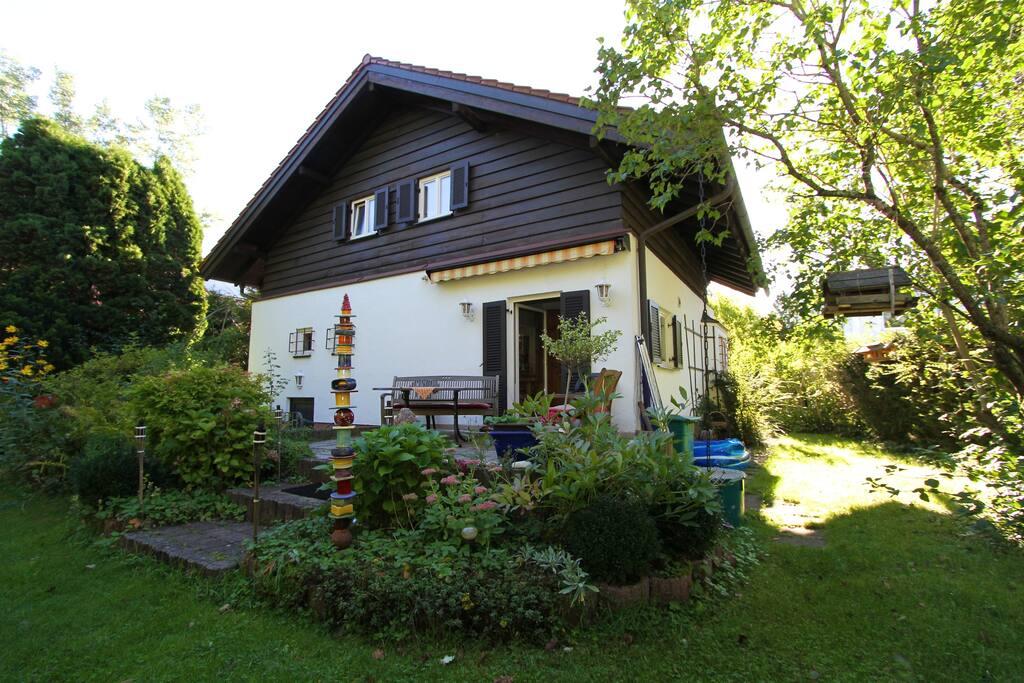 Blick vom Garten / View from the garden