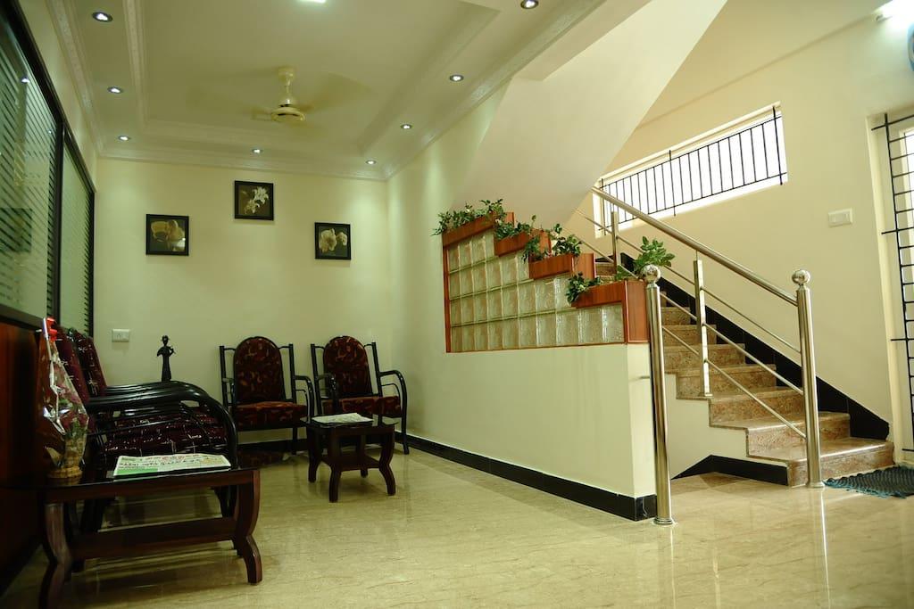 Common waiting area
