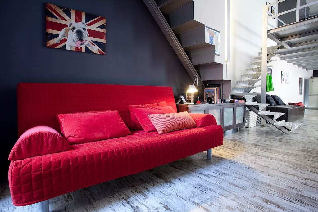 Spacious Maxi-Loft Barcelona Centre