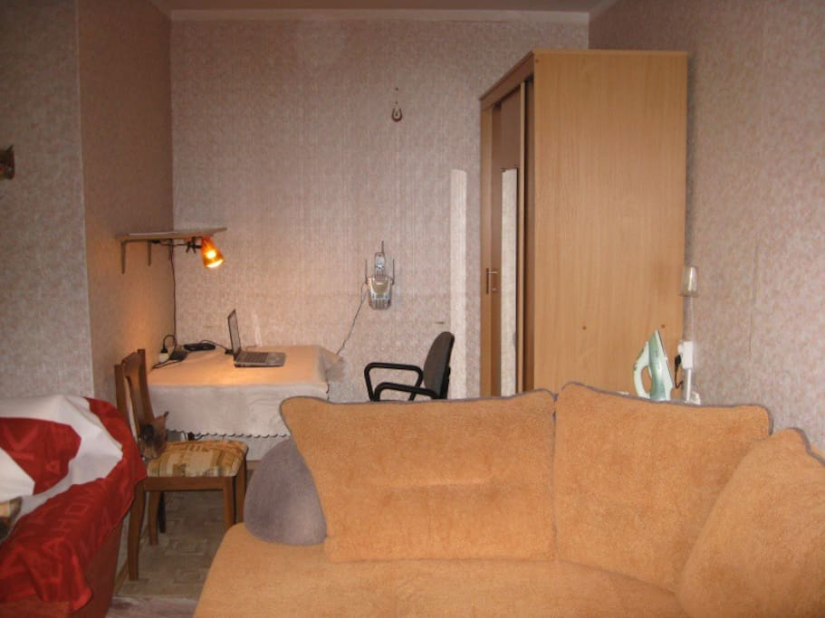 Cozy apt, transfer, near green area