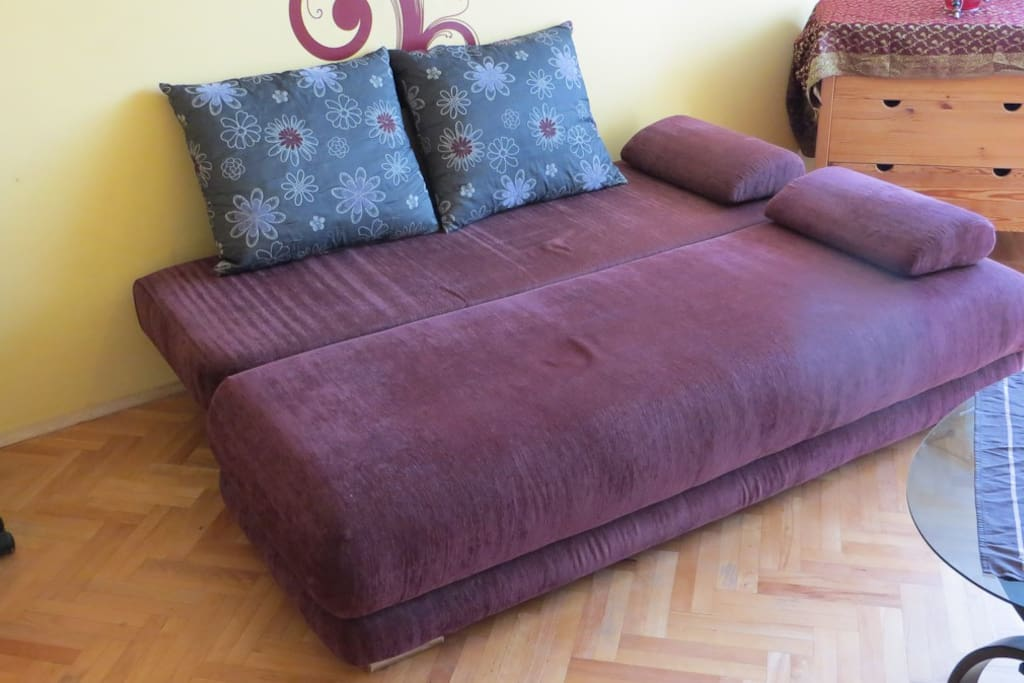 Living room - bed