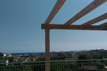 Attic with unlimited view - Kalamata - Loft