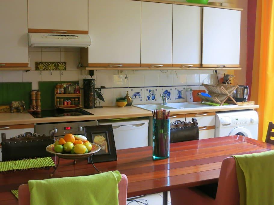 Kitchen, no micron though.