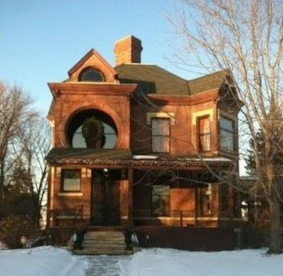Historic Dearing Mansion Built in 1885 in the Queen Anne Style