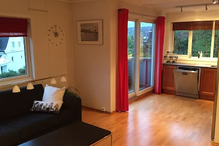 Nice apartment close to public transport - Bergen - Lägenhet
