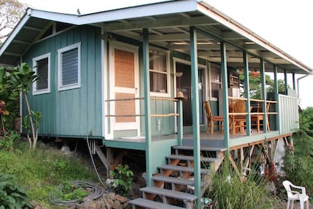 Garden Cottage with Ocean View - Kealakekua - Chalet