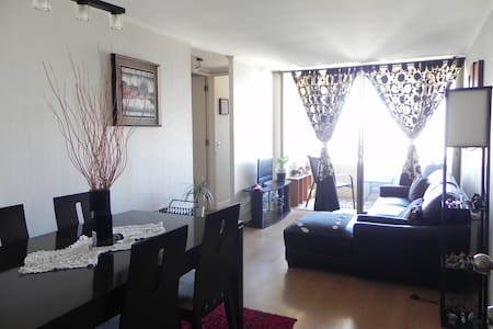 Nice room in my apartment. Welcome to Santiago! - Apartamento