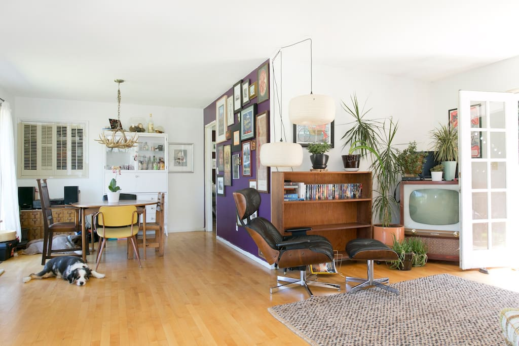 Funky Lower Level Private Space
