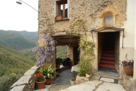 Casale in pietra a 25 min. mare (2) - Leilighet