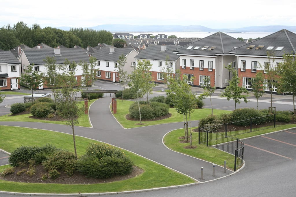 Landscaped Central Area