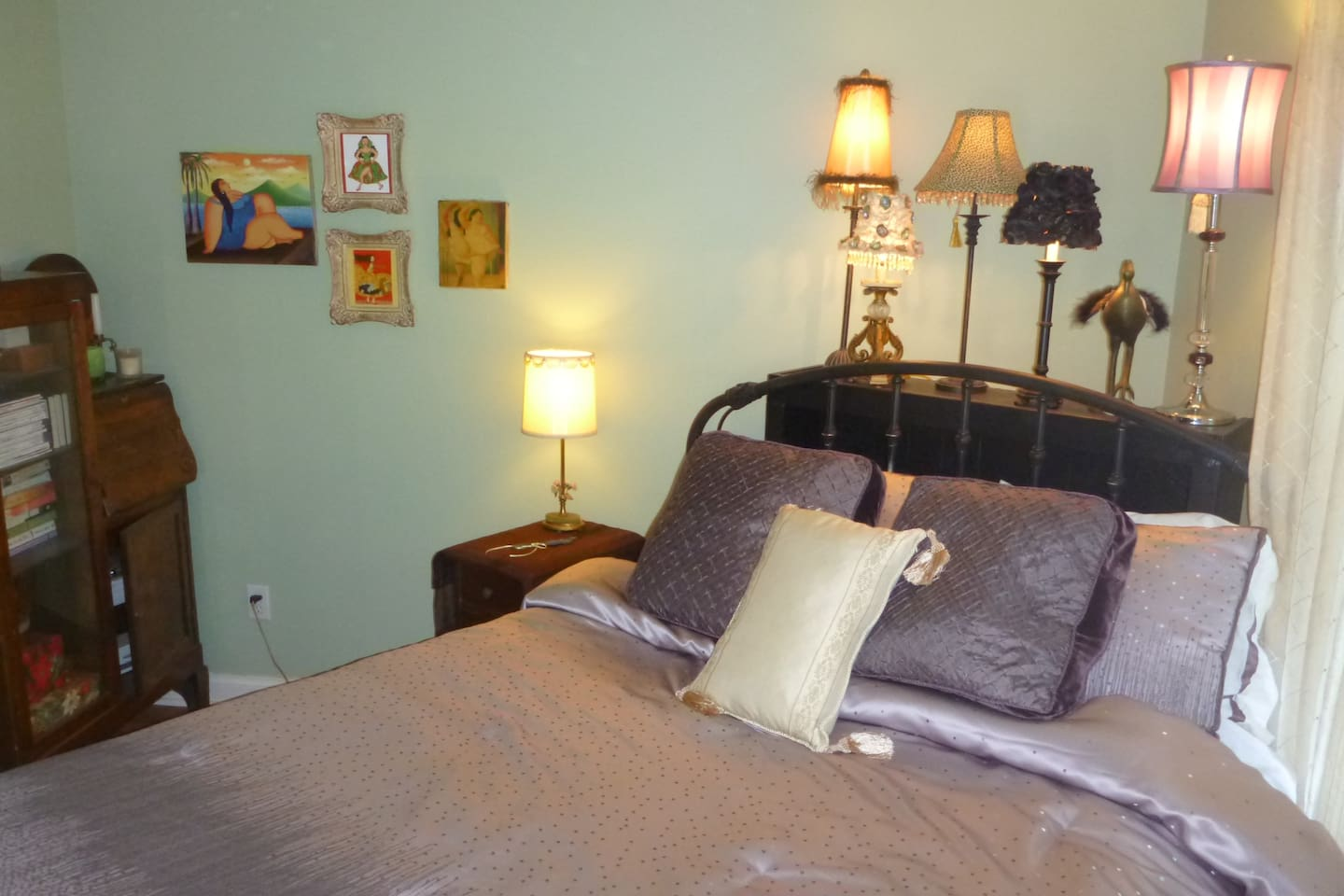 Your bedroom with private entrance
