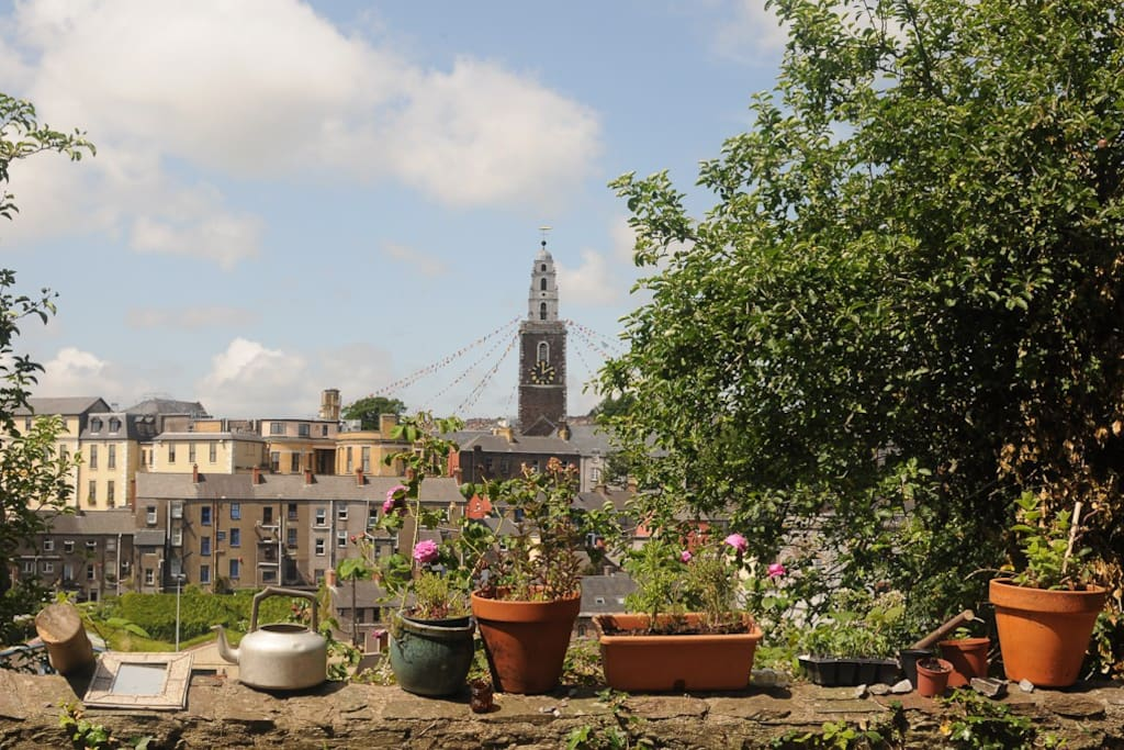Herbs, with Shandon Tower in the background