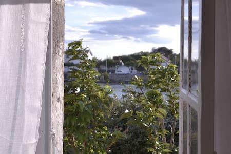 F3 bord de mer et jardin - en étage - Agde